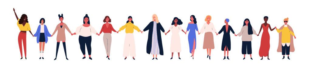 femmes ensemble